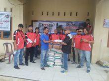Salurkan Donasi, JMG dan LPRI Kunjungi Korban Banjir Bandang Solok Selatan