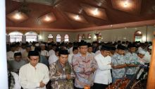 Ribuan Warga Kota Payakumbuh Shalat GMT