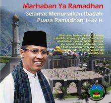 Walikota Hendri Arnis: Mari Kita Perbanyak Ibadah di Bulan Ramadan