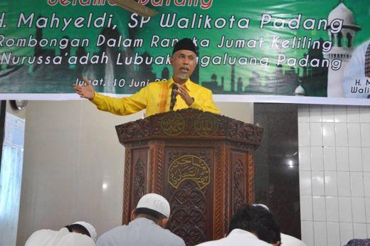 Ini Kata Walikota Padang Tentang Keutamaan Sepuluh Malam Terakhir Ramadan