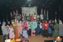 Asiiik... Nikmati Musik, Dengarin Tausiyah dan Santuni Anak Yatim, Cara Alumni SMA 4 Padang dan Warga Padang Area Habiskan Waktu Sambil Menunggu Berbuka Puasa
