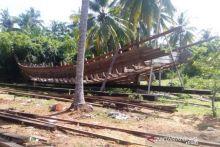 Sudah Beroperasi Enam Tahun, Pembuatan Kapal Kayu di Lengayang Ternyata Tanpa Izin