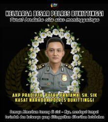 Polres Bukittinggi Berduka, Perwira Terbaik Pradipta Putra Pratama Wafat