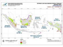 Astaga... Luas Lahan yang Terbakar Sejak Juli Hingga Oktober 2015 Lebih dari 2 Juta Hektar