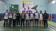 Turnamen Taslim Marfendi Cup Himpun Pecinta Olahraga Bulutangkis di Bukittinggi