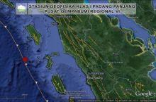 Gempa 4,8 SR Kembali Menggoyang Kepulauan Nias