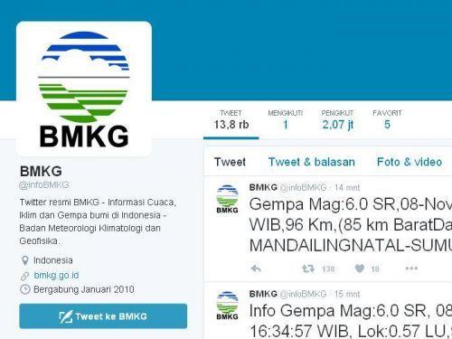 Mandailing Natal Digoyang Gempa 6.0 SR, Getarannya Terasa di Padang