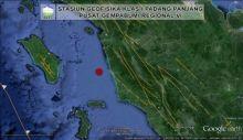 Gempa 3.0 SR Goyang Pasaman Barat
