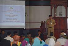 Wako Hendri Arnis ingatkan Jamaah Calon Haji (JCH) Dapat Mempersiapkan Diri Sebaik Mungkin