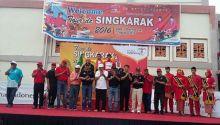 Finis Etape VII Tour de Singkarak Dibanjiri Warga Dharmasraya