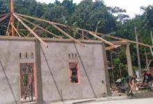 TMMD Bangun Mushalla di Kampung Kandis Pesisir Selatan