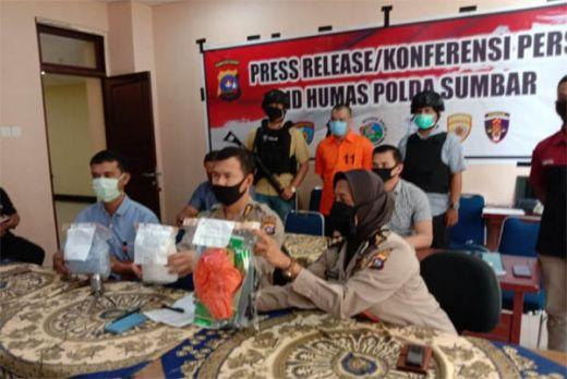 Polda Sumbar Ungkap Narkoba Rp2,7 Miliar, Pelaku Ditangkap di Dharmasraya