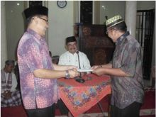 Kunjungi Masjid An Nur, TSR Kota Solok Ajak Warga Sukseskan Jumat Bersih