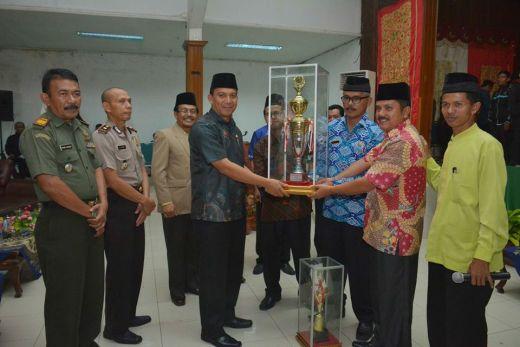 Kelurahan Ekor Lubuk Kecamatan Padang Panjang Timur Juara Umum MTQ