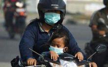 Warga Kota Padang Mulai Banyak yang Batuk-batuk Akibat Asap