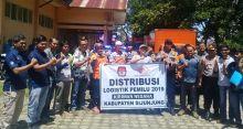 KPU Sijunjung Tuntas Distribusikan Logistik Pemilu