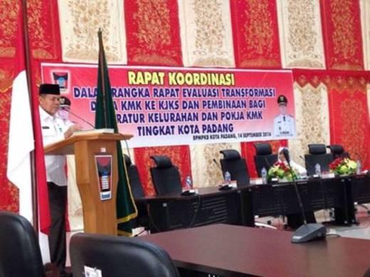 Dana Kredit Mikro Kelurahan Rawan Penyelewengan, Wawako Padang: Penggunaanya Mesti Dipertanggungjawabkan