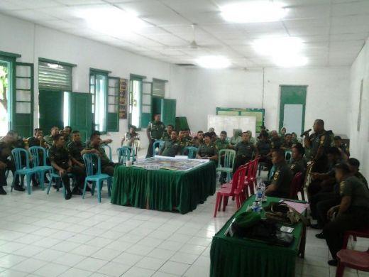 Dinas Jawatan Terima Penyuluhan Bintal Rem 032/Wirabraja