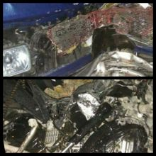 Innalilahi...Pengemudi Motor Ini Tewas Usai Bertabrakan dengan Mobil Daihatsu Feroza di Padang Tarok Agam