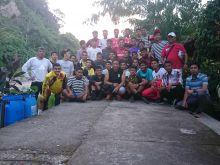 Usai Jalani TC, Tim Sepakbola dan Futsal Askot PSSI Kota Bukittinggi Ini Rilexs di Ngarai Sianok