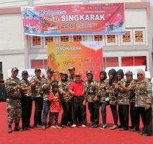 FKPPI Dharmasraya Terpanggil Sukseskan Tour de Singkarak Etape 7