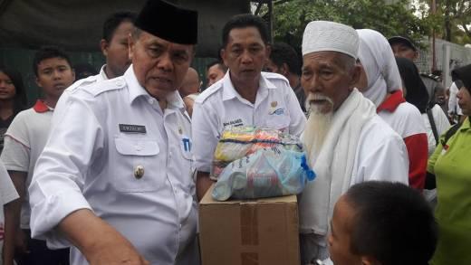 Korban Kebakaran Terandam Dapat Santunan dari Pemko Padang