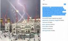 Beginilah Suasana Ngeri Saat Crane Jatuh Menghantam di Masjidil Haram