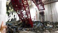 Diterpa Badai, Crane Timpa Masjidil Haram, Puluhan Orang Tewas, Jamaah Sumbar Ikut Terluka