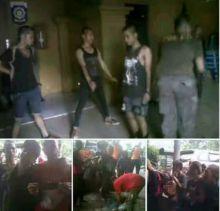 Gerombolan Anak Punk Asal Sumbar Diciduk Satpol PP di Tabek Gadang, Pekanbaru