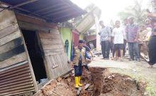 Jalan Retak di Lintas Sumbar - Riau Akibat Tanah Bergerak Sudah Ditangani Balai Jalan Nasional
