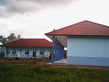 Pembangunan SMK N 4 Payakumbuh Capai 95%