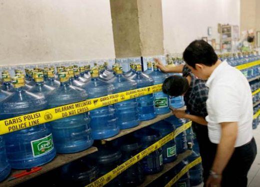 Meski Sempat Segel Pabrik, Polda Sumbar Akhirnya Hentikan Kasus Air Minuman Dalam Kemasan Bermerek SMS