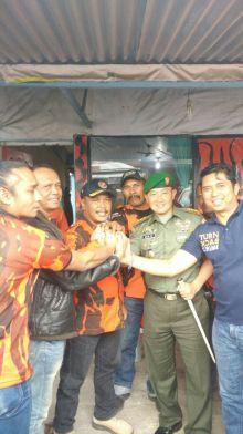 Temui Sahabat Kodim, Dandim 0304 Agam Kunjungi MPC Pemuda Pancasila Bukittinggi