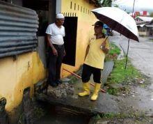 Cuaca Tak Bersahabat, Walikota Mahyeldi Tinjau Kondisi Kota