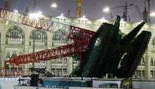 Crane yang Menimpa Masjidil Haram Itu Milik Bin Ladin, Beratnya 1.300 Ton, Terbesar Kedua di Dunia