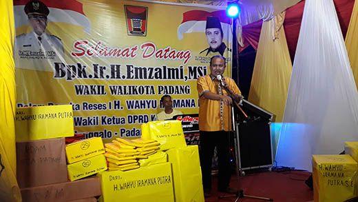 Warga Tanjung Berok Sampaikan Aspirasi ke Wakil Ketua DPRD Padang Wahyu Iramana Putra