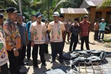 Wabup Dharmasraya Turun Langsung Lihat Pekerjaan Proyek Pembangunan