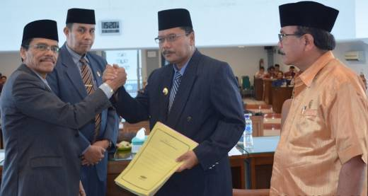 DPRD Lahirkan 2 Ranperda Inisiatif Jadi Perda