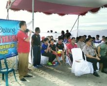 Gelar Turnamen Bola Pantai, Padang Barat Persiapkan Kampung Bebas Narkoba