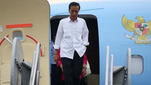 Terbang dari Jakarta, Jokowi Belum Tahu akan Mendarat di Mana, Pekanbaru, Padang atau Jambi