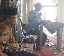 Hari Pertama Kerja, Gusmal Wirid di Islamic Center Koto Baru Solok