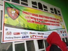 Jurnalis BPC dan Mahasiswa Bukittinggi Ini Gelar Bakti Sosial di Panti Jompo Ikhwanul Shafa Agam