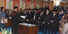 40 Anggota DPRD Pasaman Barat Dilantik, Ini Nama-namanya