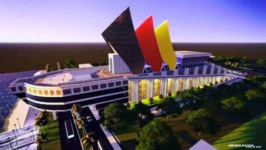 Ini Bentuk Gedung Pusat Kebudayaan Sumatera Barat yang Spektakuler dan Menggambarkan Kebesaran Budaya Minang
