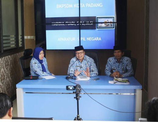 Tahun 2018 Ratusan ANS Bakal Pensiun, Pemko Padang Ajukan Formasi Penerimaan CPNS ke KemenPAN-RB