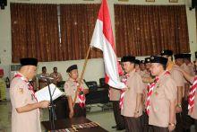 Pengurus Kwarcab Pramuka Kota Padang Periode 2017-2022 Dikukuhkan