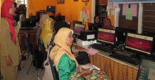 14 Tim Fasilitator Perpustakaan Kelurahan, Ikuti Pelatihan Dasar Komputer dan Internet