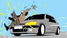 Siap Ambil Raskin, Warga Palupuah Tewas Ditabrak Mobil di Lintas Bukittinggi-Pasaman