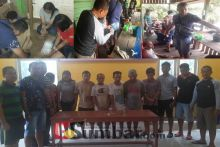 Pesta Sabu di Bulan Puasa, 5 Pria dan 2 Wanita Ditangkap di Kamang Baru Sijunjung