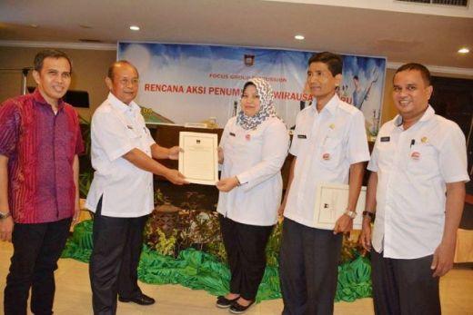 Pemko Padang Gelar FGD Rencana Aksi Penumbuhan Wirausaha Baru